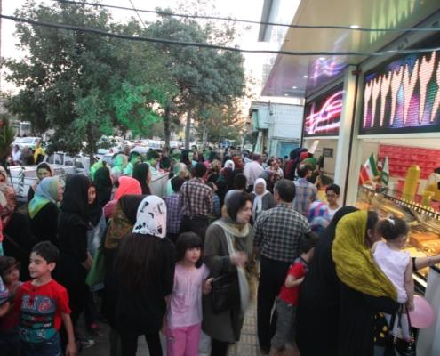 شعبه تهرانپارس افتتاح شد