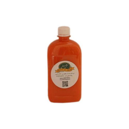 آب هویج بطری نیم لیتری